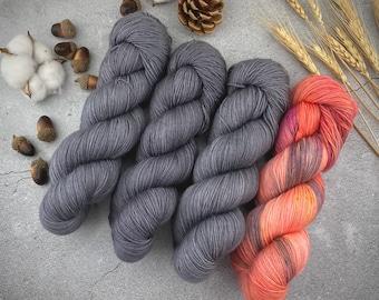 Size 4-6 Mauri Tau Pullover Kit   Superwash Wool  