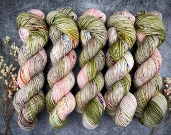 Americano DK Weight | 100% SW Merino Wool | Guava | Hand Dyed Yarn | Superwash wool
