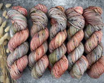 100% Merino SW Fingering Weight   Potted Plant   Hand Dyed Yarn   Superwash wool