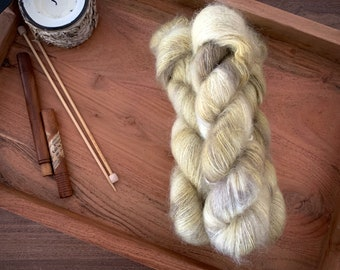 Chick | Mohair Silk | Hand Dyed Yarn