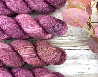 Kraken | Hand Dyed Yarn | Superwash Merino Wool