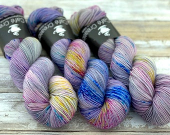 100% Merino SW Fingering Weight | Pixie | Hand Dyed Yarn | Superwash wool
