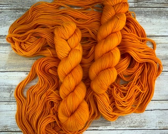 Pumpkin Juice  | Harry Potter Magical Treats Collection | Hand Dyed Yarn
