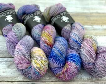 85/15 SW Merino/Wool Sock Weight| Pixie | Hand Dyed Yarn | Superwash wool