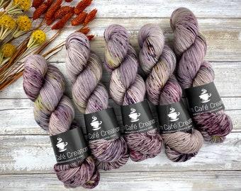 Biscotti Sock | 85/15 SW Merino/Wool Sock Weight| T. N. Honey | Hand Dyed Yarn | Superwash