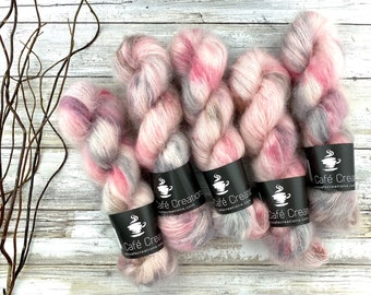 Marry Me? | Mohair Silk | Hand Dyed Yarn