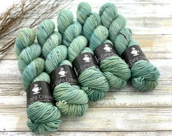 Americano DK Weight | 100% SW Merino Wool | Sage Brush | Hand Dyed Yarn | Superwash wool