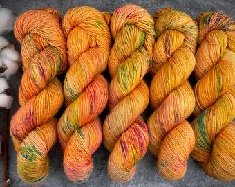 2-ply Fingering Weight   Phoenix   Hand Dyed Yarn   Superwash Merino Wool
