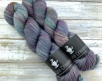 Hand-Dyed Yarn | Merino Wool | Earthy Collection | Hurricane