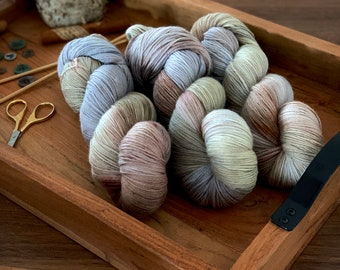 Tumbleweed | Hans Dyed Yarn | Non-Superwash Merino Wool