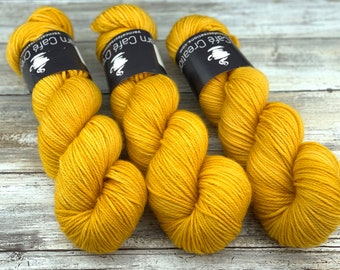 Worsted Weight   Mothman   Hand Dyed Yarn   Superwash wool