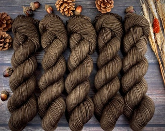 Americano DK Weight | 100% SW Merino Wool | Allspice | Hand Dyed Yarn | Superwash wool