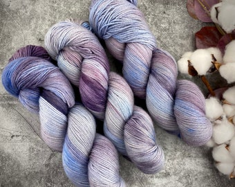 Fingering Weight | Constellation | Hand Dyed Yarn | Non-Superwash Merino Wool