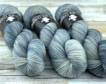 100% Merino SW Fingering Weight | Atmosphere | Hand Dyed Yarn | Superwash wool