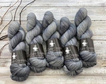 100% Merino SW Fingering Weight | Norman Bates | Hand Dyed Yarn | Superwash wool