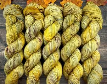 Americano DK Weight   100% SW Merino Wool   Harvest Moon   Hand Dyed Yarn   Superwash wool