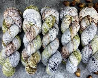 100% Merino SW Fingering Weight | Tumbleweed | Hand Dyed Yarn | Superwash wool
