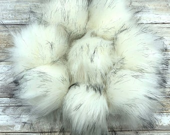 Cotton Ball | Pom Pom | Snap on Pom Pom | Faux Fur Pompom