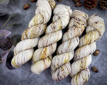 Americano DK Weight | 100% SW Merino Wool | Creme Brûlée  | Hand Dyed Yarn | Superwash wool