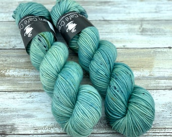 DK Weight | 100% SW Merino Wool | Sage Brush | Hand Dyed Yarn | Superwash wool