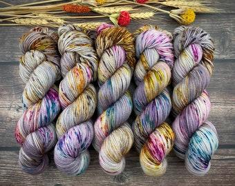 Polwarth DK Weight | 100% SW Polwarth Wool | Boozy Hot Wassail | Hand Dyed Yarn |