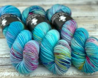 Worsted Weight   Billywig   Hand Dyed Yarn   Superwash wool