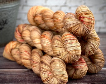 Americano DK Weight | 100% SW Merino Wool | Oak | Hand Dyed Yarn | Superwash wool