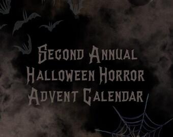 Halloween Horror Advent Calendar Second Annual