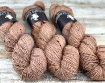 Worsted Weight   Sludge   Hand Dyed Yarn   Superwash wool