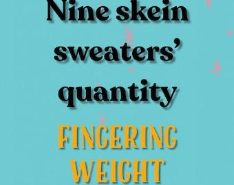 Sweater Quantities