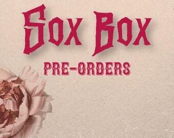 Sox Box Quarterly Yarn Club | Quarter One 2020 | Hand Dyed Yarn and Pattern Club