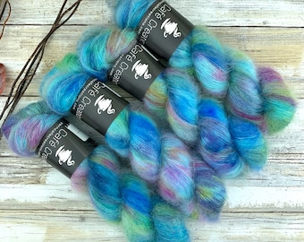 Billywig | Mohair Lace | Hand Dyed Yarn
