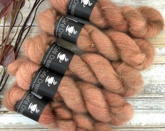Manicure | Mohair Silk | Hand Dyed Yarn