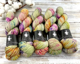 Sport Weight | 100% SW Merino Wool | Apple Dumplin | Hand Dyed Yarn | Superwash wool