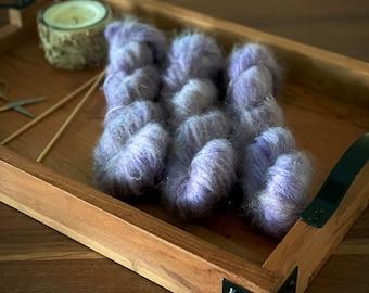 Sachet | Mohair Lace | Hand Dyed Yarn