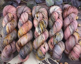Polwarth DK Weight | 100% SW Polwarth Wool | Agate | Hand Dyed Yarn |