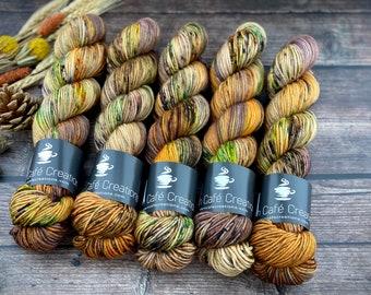 Americano DK Weight | 100% SW Merino Wool | Butter Cookie | Hand Dyed Yarn | Superwash wool