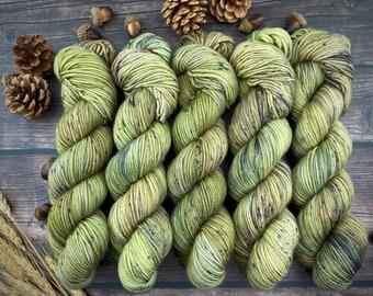 Americano DK Weight | 100% SW Merino Wool | Underbrush | Hand Dyed Yarn | Superwash wool