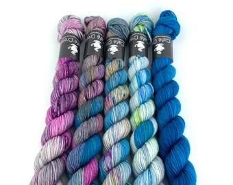 Cryptids Blue Mini Set | Merino Wool Blend