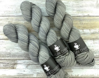 DK Weight | 100% SW Merino Wool | Oatmeal | Hand Dyed Yarn | Superwash wool