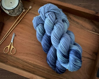Saltwater | Non-Superwash Merino Wool | Hand-Dyed Yarn | DK Weight