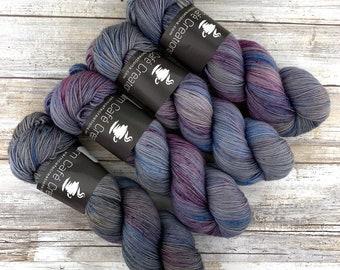 Constellation | Hand Dyed Yarn | Superwash wool