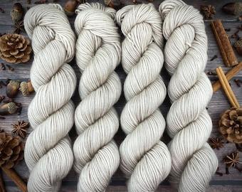 Americano DK Weight | 100% SW Merino Wool | Cocoa | Hand Dyed Yarn