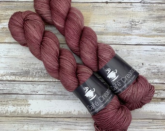 Hand-Dyed Yarn   Merino Wool   Clove