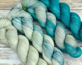 Hand-Dyed Yarn | Merino Wool | December Desert Kit