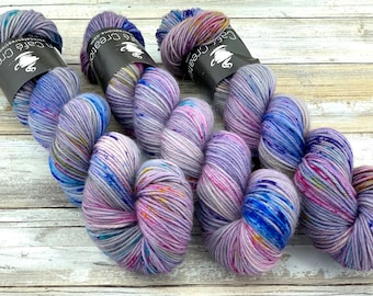 DK Weight | 100% SW Merino Wool | Pixie | Hand Dyed Yarn | Superwash wool