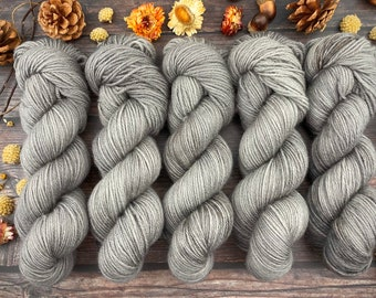 Veranda BFL DK Weight | 100% SW Blue-Faced Leicester Wool | Coffee | Hand Dyed Yarn | Superwash wool