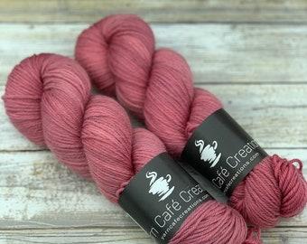 Hand-Dyed Yarn | Merino Wool | Blush