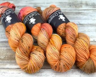 DK Weight Wool/Nylon Blend | Heresy | Hand Dyed Yarn | Superwash Wool