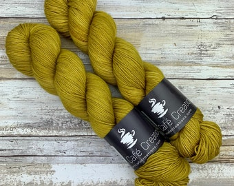 Hand-Dyed Yarn | Merino Wool | Ginger